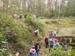 Geschichtslehrpfad KZ Bisingen - Schüleraktion 15.10.2014 -3