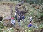 Geschichtslehrpfad KZ Bisingen - Schüleraktion 15.10. 2014 -4