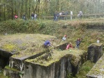 Geschichtslehrpfad KZ Bisingen - Schüleraktion 15.10.2014 -5