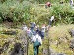 Geschichtslehrpfad KZ Bisingen - Schüleraktion am 15.10.2014 -2