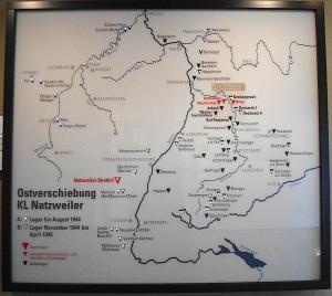 Die KZ-Lager rechts und links des Rheins