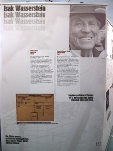 Isak Wasserstein - Überlebender des KZ Bisingen
