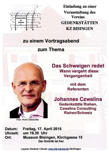 Plakat 17. April 2015 - Joh
