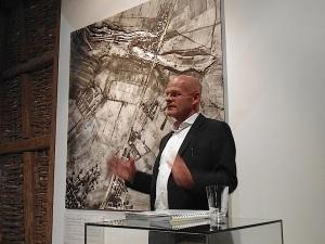 17. April 2015 Johannes Czwalina im Museum Bisingen -2