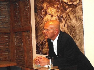 17. April 2015 Johannes Czwalina im Museum Bisingen