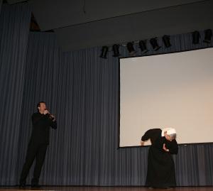 Sr. Silvia Pauli und Stephan Brit, beide Riehen/Schweiz