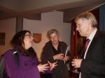Dr. Idit Gil, Hanne Grunert und Dr. Zekorn im Gespräch