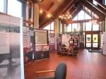 Im Foyer der Hohenzollernhalle Bisingen