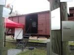 Ein ehemaliger Reichsbahn-Güterwaggon