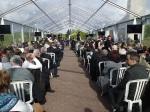 Struthof 26. Aprul 2015 - das Gäste-Zelt