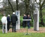 Gedenkstelen in Erzingen 3. Mai 2015 - Die Stelen