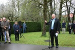 Gedenkstelen in Erzingen 3. Mai 2015  Grußwort Oberbürgermeister Reitemann, Balingen