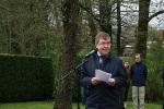 Gedenkstelen in Erzingen 3. Mai 2015 Ortsvorsteher Sautter, Eringen