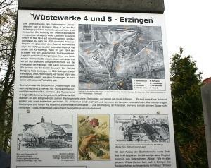 Gedenkstelen in Erzingen 3. Mai 2015 Wüstewerk 4 & 5 Erzingen