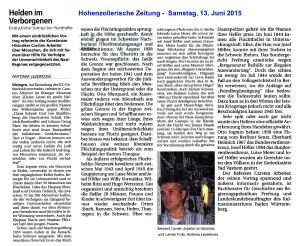 HoZoZei - Samstag, 13. Juni 2915 - Carsten Arbeiter