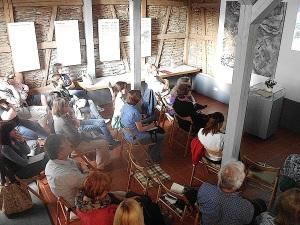 Kleine Leute-große Helfer 11. Juni 205 Gedenkstätten KZ Bisingen e.V. Besucher des Vortrags -2