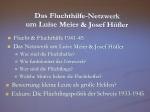 Kleine Leute-große Helfer 11. Juni 205 Gedenkstätten KZ Bisingen e.V. Das Fluchthilfe Netzwerk um Luise Meier & josef Höfler