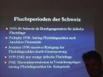 Kleine Leute-große Helfer 11. Juni 205 Gedenkstätten KZ Bisingen e.V. Fluchtperioden der Schweiz