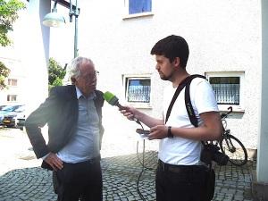 Harald Roth im Interview mit dem SWR4