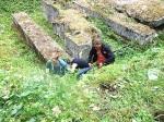 PICT7142 27. Juli 2015SchülerInnen der Realschule Bisingen in Aktion auf dem Geschichtslehrpfad Bisingen -6