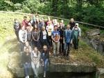 PICT7153 27. Juli 2015SchülerInnen der Realschule Bisingen in Aktion auf dem Geschichtslehrpfad Bisingen -9