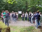 27. Juli 2015SchülerInnen der Realschule Bisingen in Aktion auf dem Geschichtslehrpfad Bisingen -11