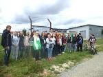 27. Juli 2015SchülerInnen der Realschule Bisingen in Aktion auf dem Geschichtslehrpfad Bisingen -12
