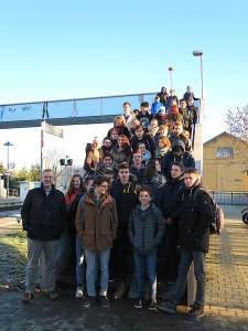 Diter Grupp und Schüler GGS - Tübingen